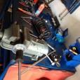 Schimb amortizoare spate E39 530d