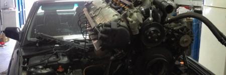 Swap motor Seria 7 E32